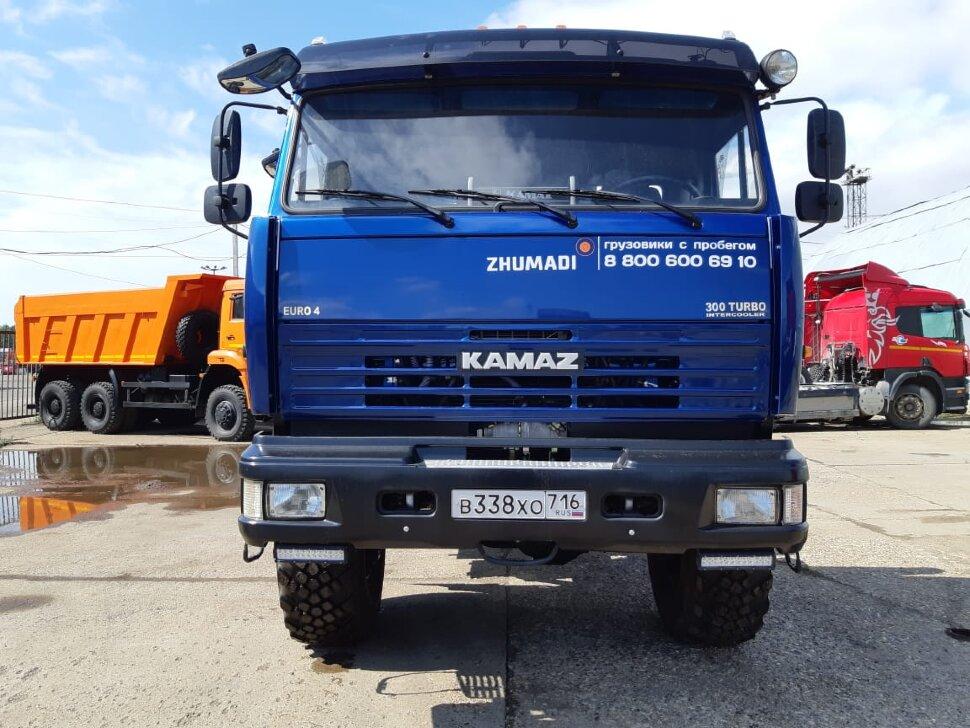 Шасси КамАЗ 43118, 2014 г, синий