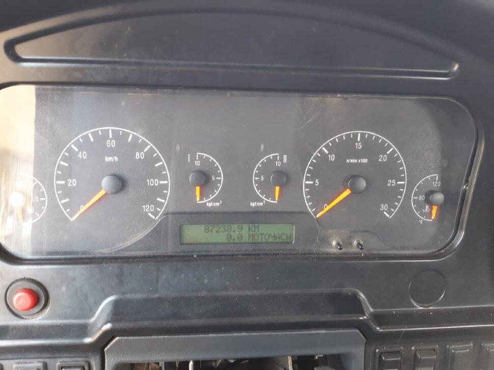 Шасси КамАЗ 65117, 2013 г, портвейн фото 15