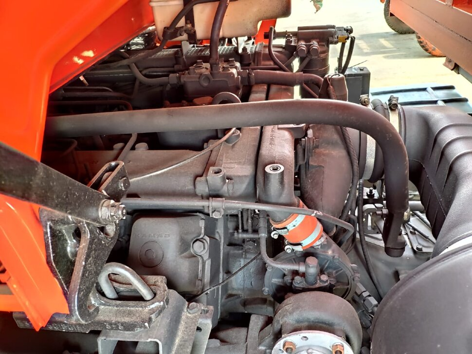Самосвал сельхозник КамАЗ 53215, 2014, оранжевый фото 10