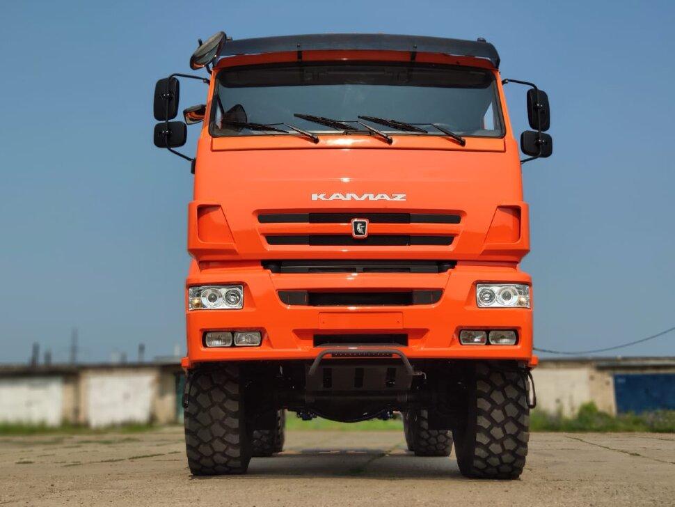 Седельный тягач КамАЗ 65221, 2011, оранжевый фото 1