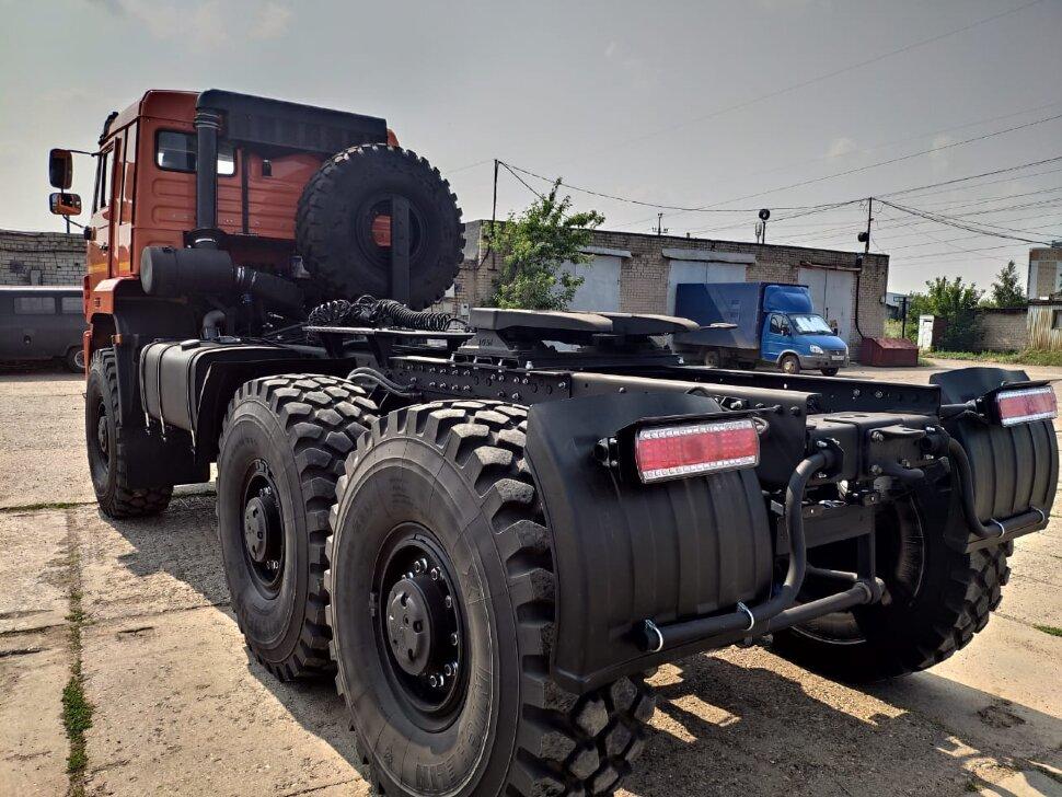 Седельный тягач КамАЗ 65221, 2011, оранжевый фото 7