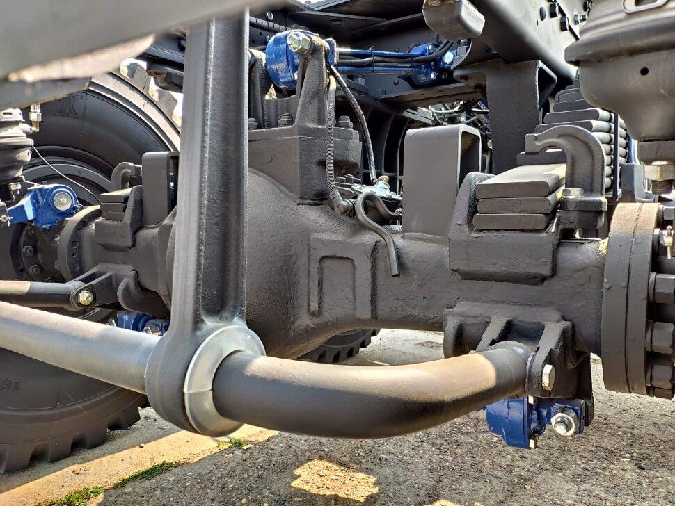 Седельный тягач КамАЗ 65221, 2011, оранжевый фото 15