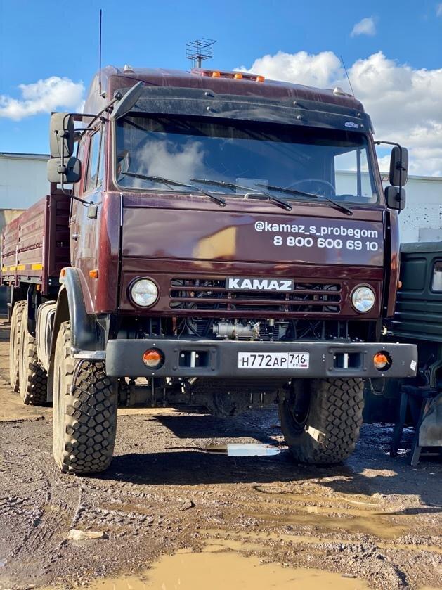 Бортовой КамАЗ 43118, 2013, портвейн