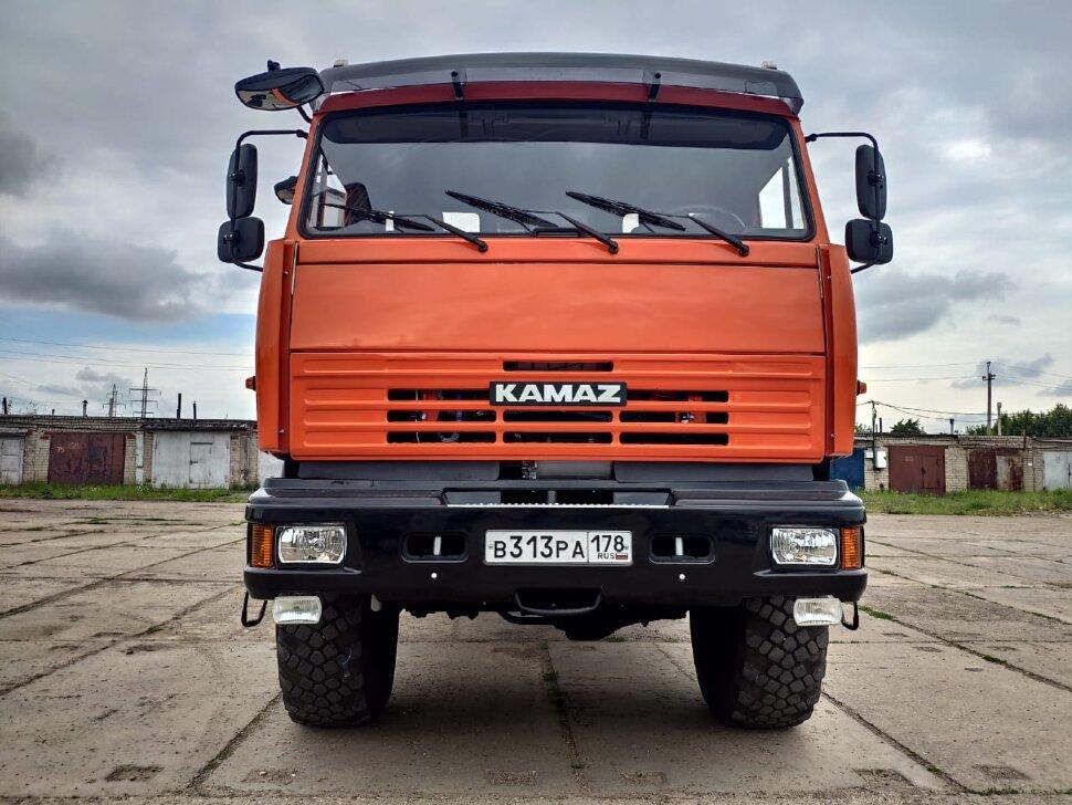 Автомастерская на шасси КамАЗ 43118, 2013, оранжевый фото 1