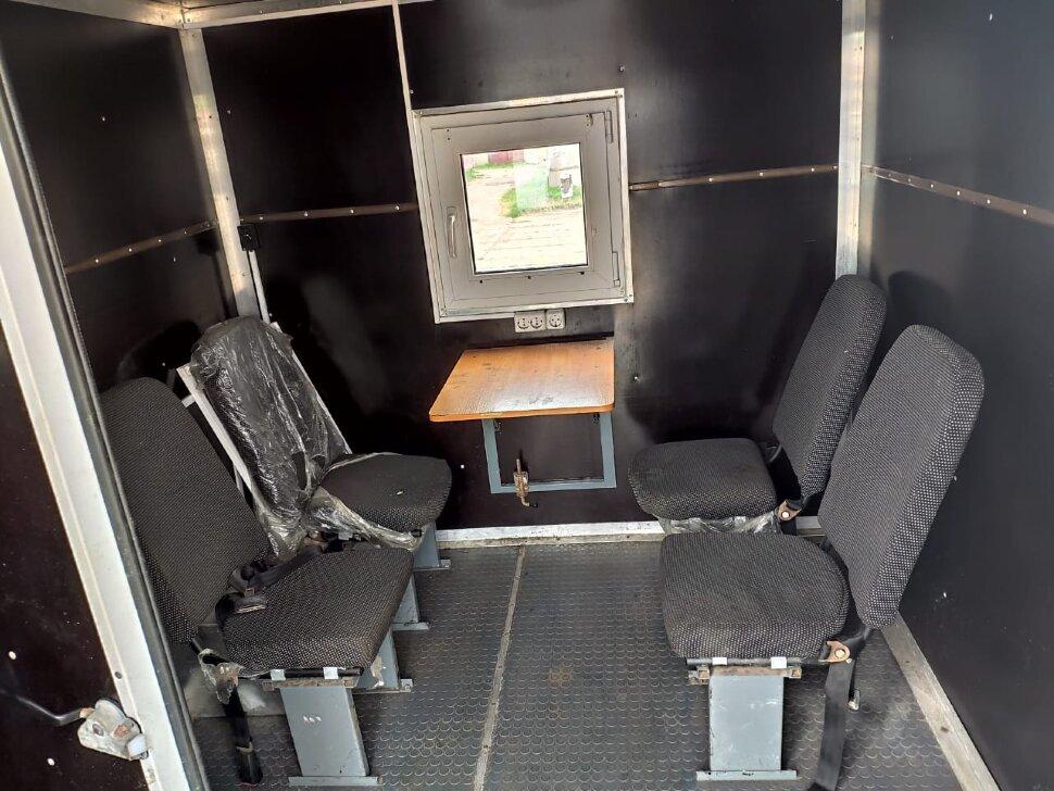 Автомастерская на шасси КамАЗ 43118, 2013, оранжевый фото 6