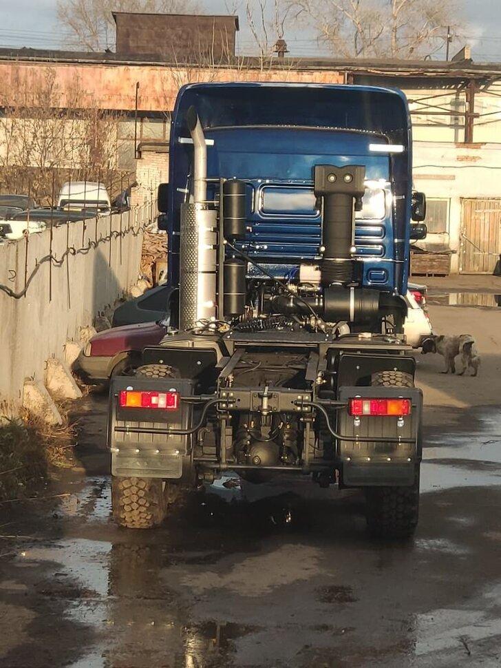 Седельный тягач КамАЗ 65225, 2011, дипломат фото 4