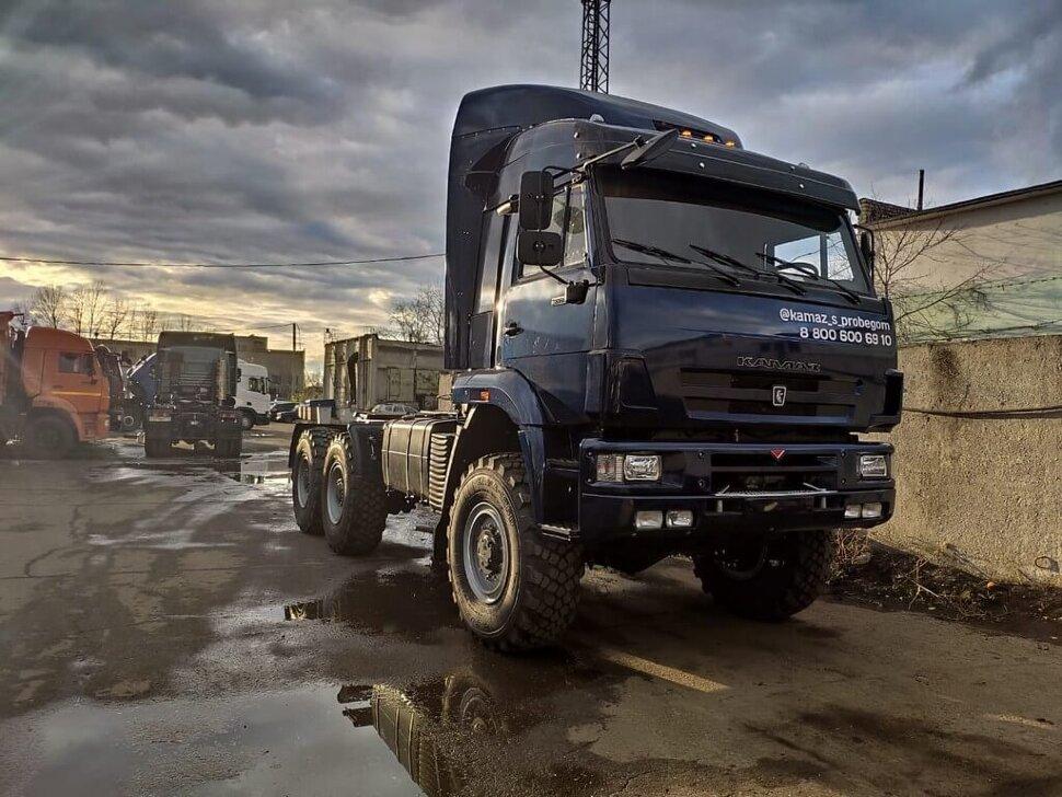 Седельный тягач КамАЗ 65225, 2011, дипломат фото 10