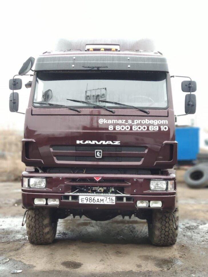 Седельный тягач КамАЗ 65225, 2011, портвейн фото 8
