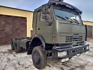 Шасси КамАЗ 65111, 2013, хаки бу фото