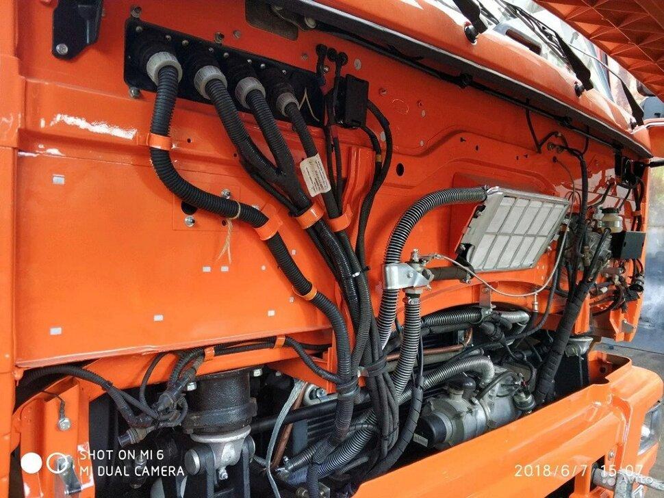 Самосвал сельхозник КамАЗ 65115, 2014, оранжевый фото 8