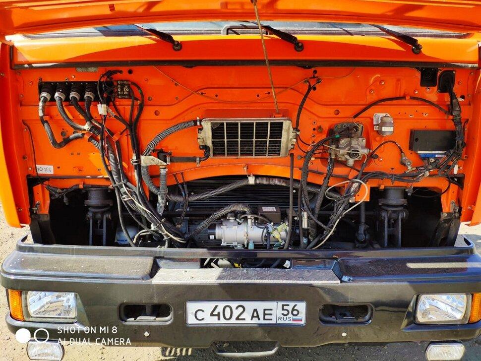 Автоцистерна молоковоз КамАЗ 65115, 2013, оранжевый фото 8