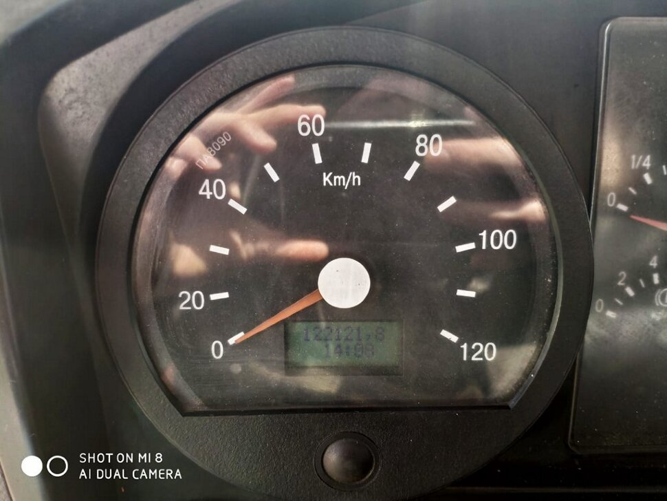 Автоцистерна молоковоз КамАЗ 65115, 2013, оранжевый фото 10
