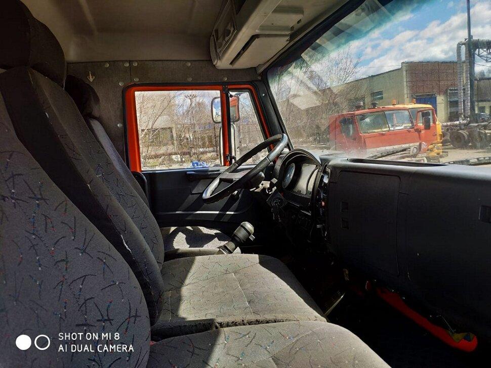 Автоцистерна молоковоз КамАЗ 65115, 2013, оранжевый фото 13