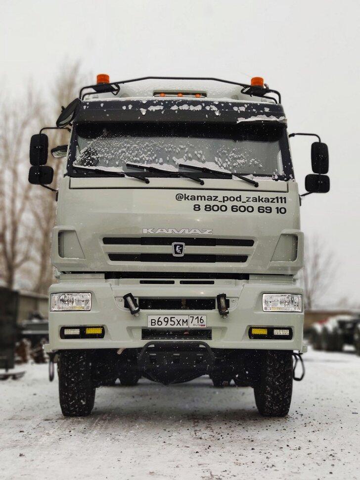 Седельный тягач КамАЗ 65225, 2017 г, снежная королева фото 2