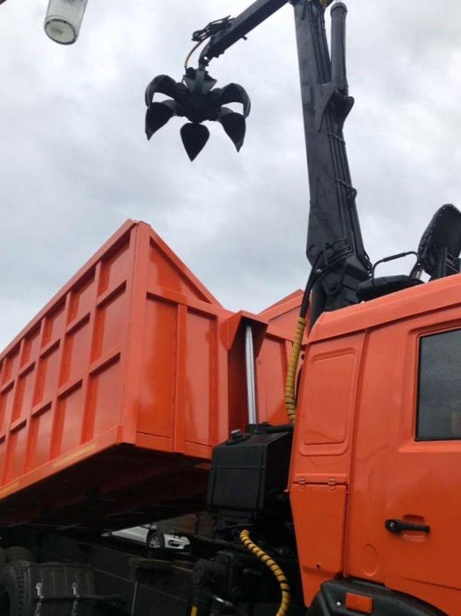 КамАЗ 65115 ломовоз, 2012, оранжевый фото 4