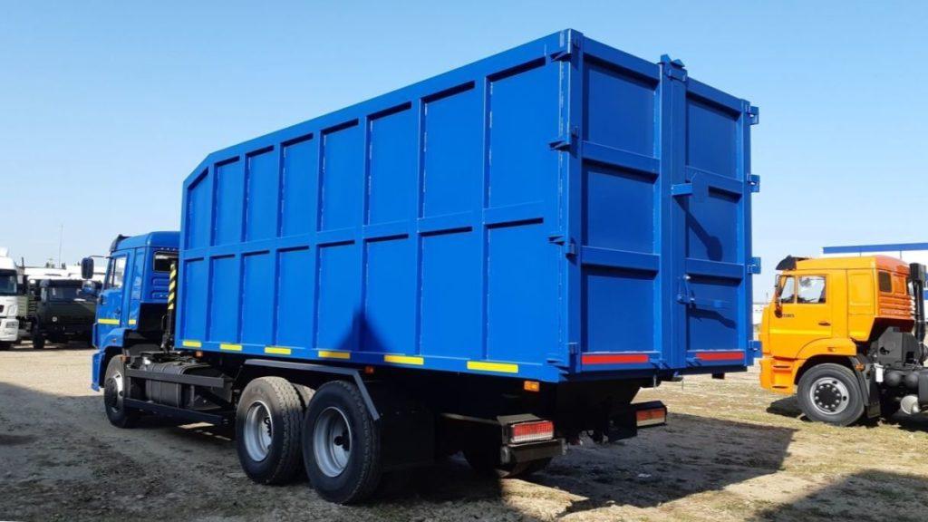 КамАЗ 65115 ломовоз, 2011, синий фото 4
