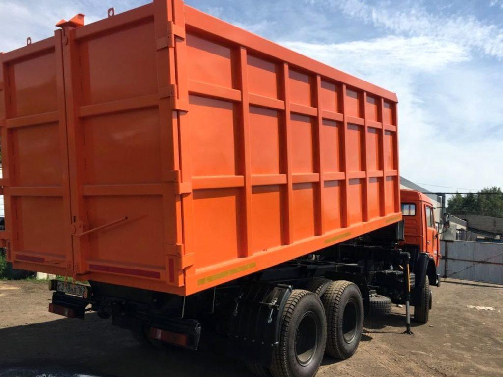 КамАЗ 65115 ломовоз, 2012, оранжевый фото 6