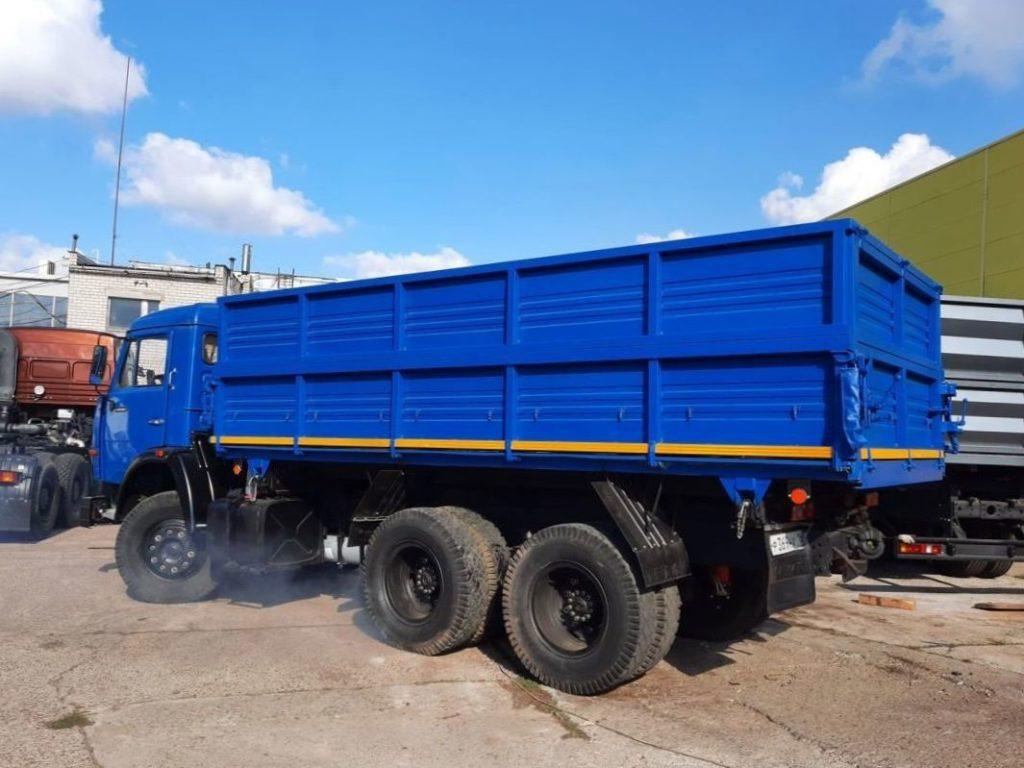 КамАЗ 45143 сельхозник, 2019, синий фото 4