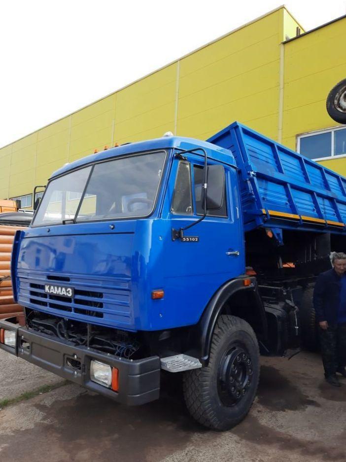 КамАЗ 45143 сельхозник, 2019, синий фото 5