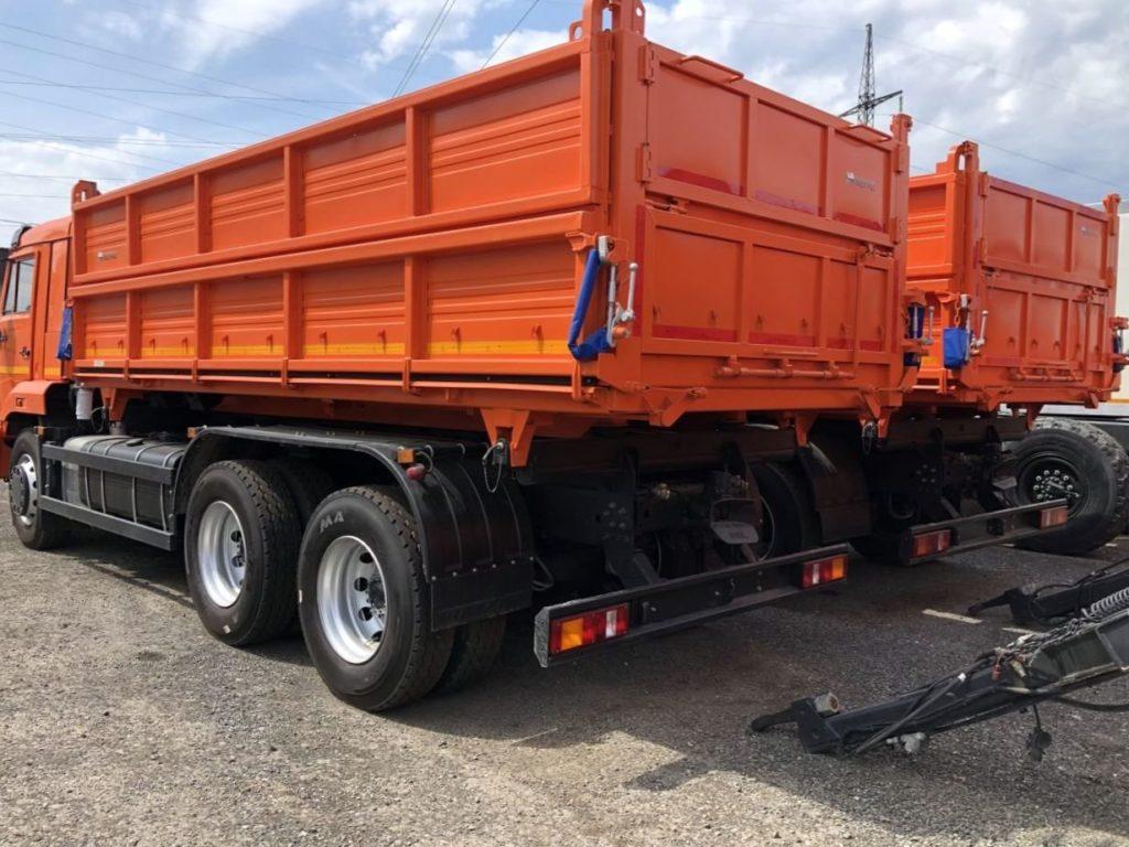 КамАЗ 45143 сельхозник, 2018, оранжевый фото 5