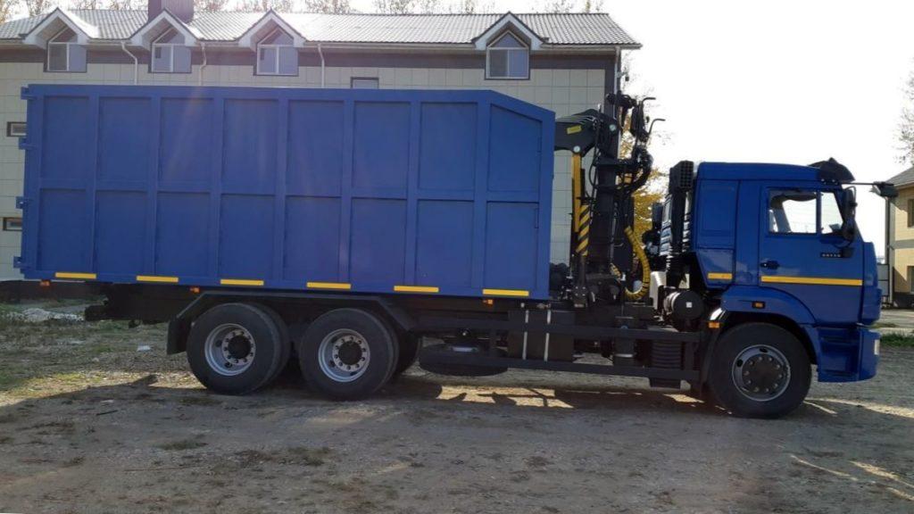 КамАЗ 65115 ломовоз, 2011, синий фото 5