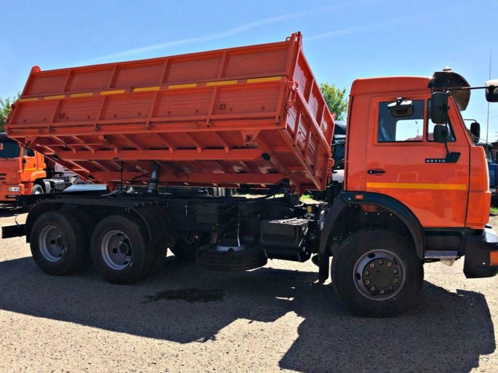 КамАЗ 45143 сельхозник, 2012, оранжевый фото 8