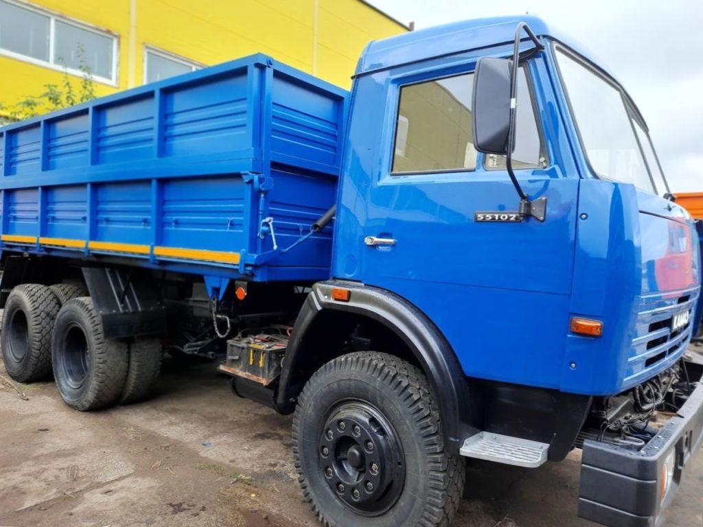 КамАЗ 45143 сельхозник, 2019, синий фото 0