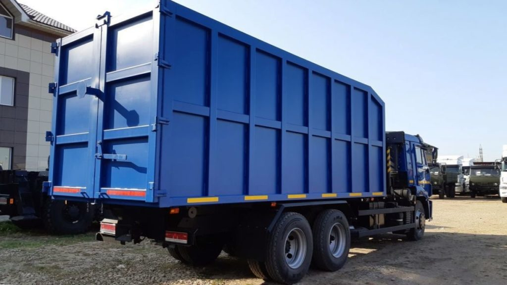 КамАЗ 65115 ломовоз, 2011, синий фото 6