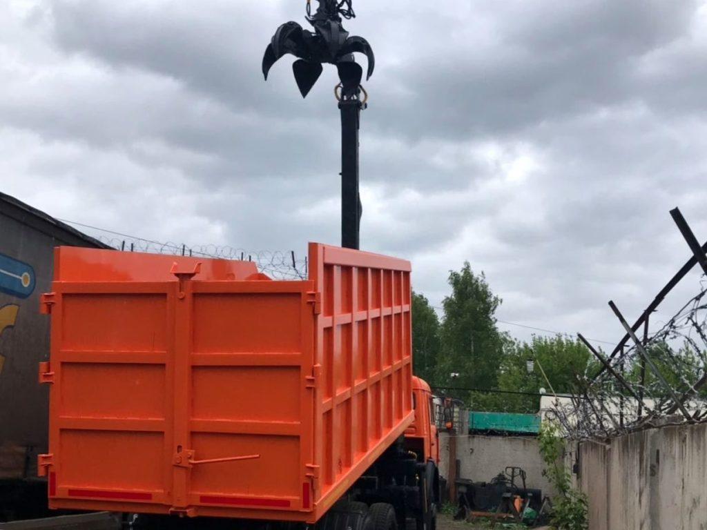 КамАЗ 65115 ломовоз, 2012, оранжевый фото 8