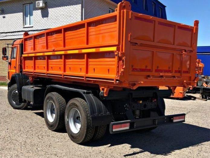 КамАЗ 45143 сельхозник, 2012, оранжевый фото 4