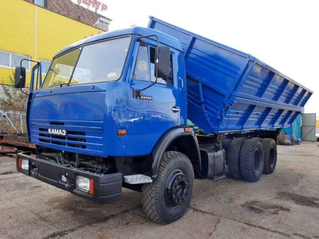 КамАЗ 45143 сельхозник, 2019, синий фото 7