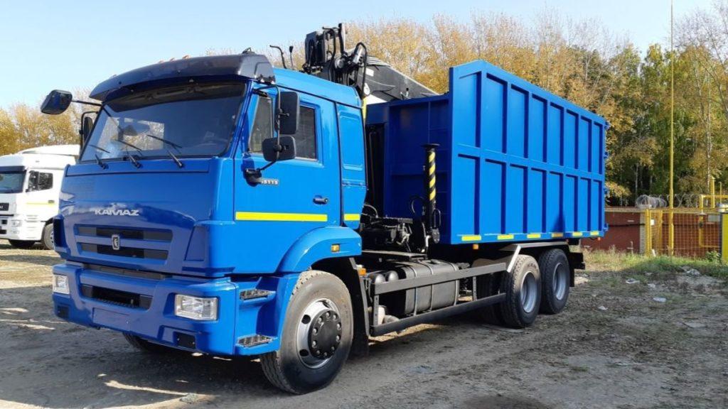 КамАЗ 65115 ломовоз, 2011, синий фото 3