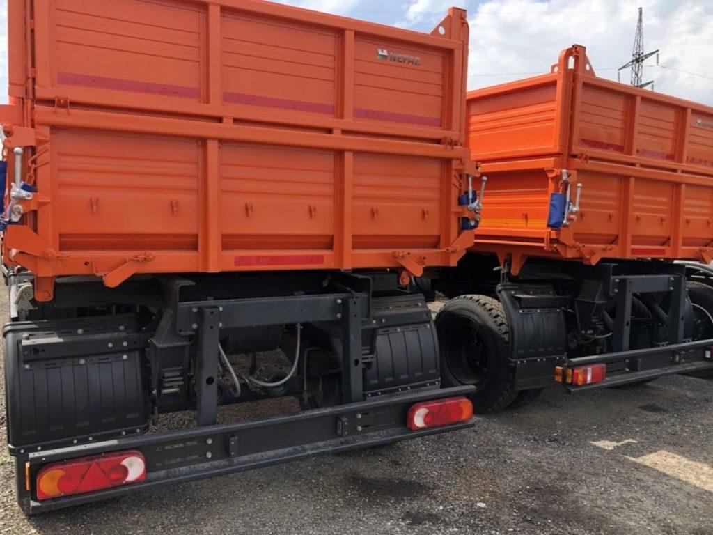 КамАЗ 45143 сельхозник, 2018, оранжевый фото 7
