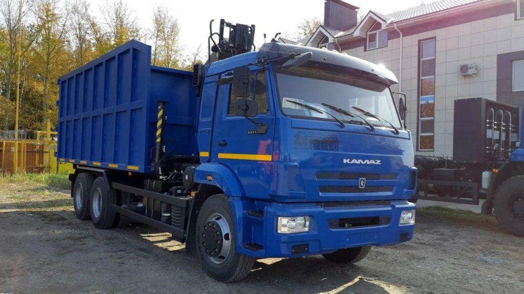 КамАЗ 65115 ломовоз, 2011, синий фото 0