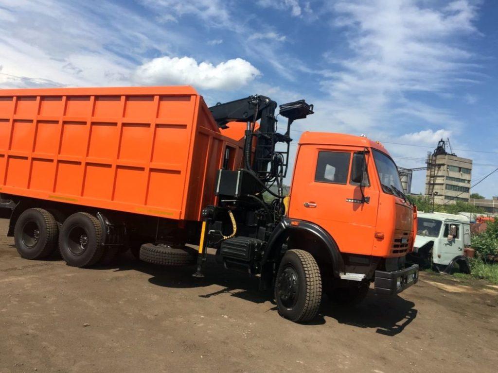 КамАЗ 65115 ломовоз, 2012, оранжевый фото 1
