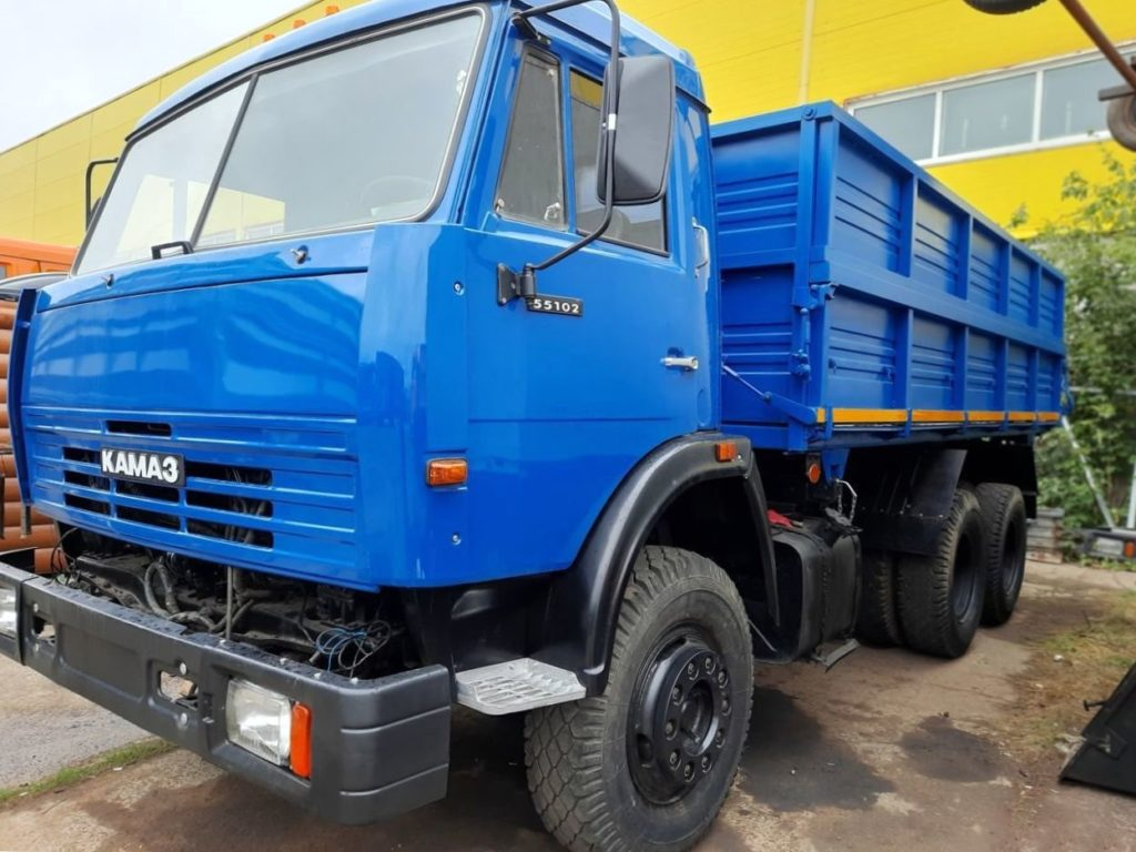 КамАЗ 45143 сельхозник, 2019, синий фото 2