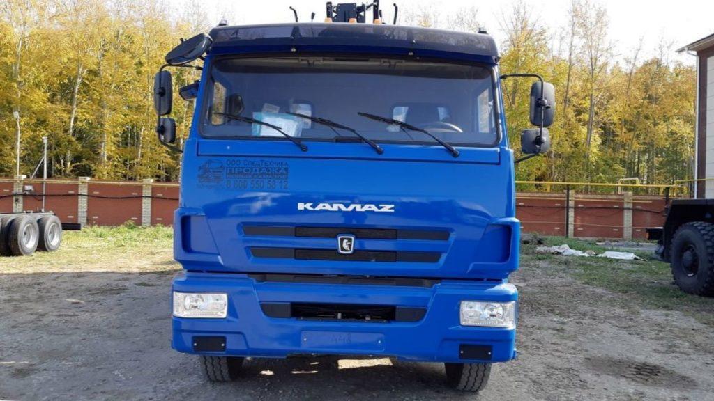 КамАЗ 65115 ломовоз, 2011, синий фото 2