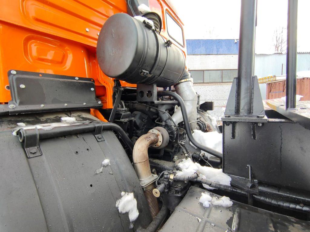 Автокран КамАЗ 43118 Ивановец 25т, 2012, оранжевый фото 8