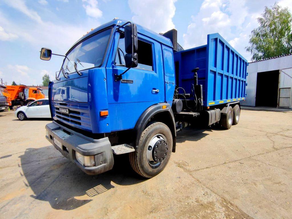КамАЗ 65115 ломовоз, 2012, синий фото 3