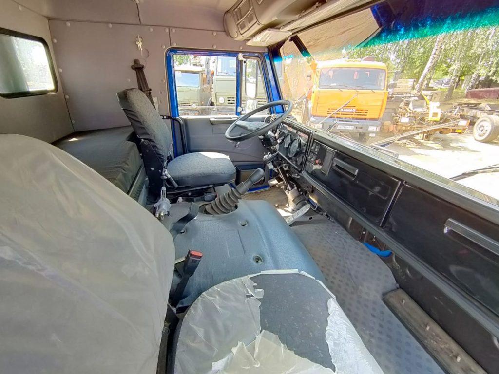 КамАЗ 65115 ломовоз, 2012, синий фото 5