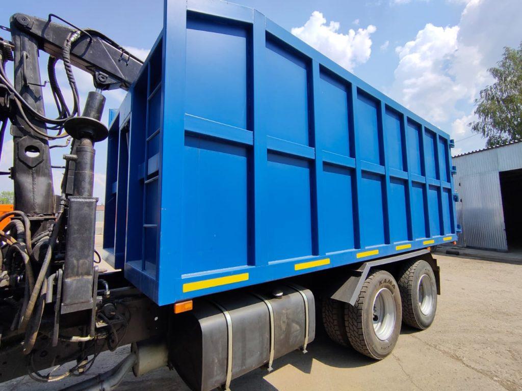 КамАЗ 65115 ломовоз, 2012, синий фото 6
