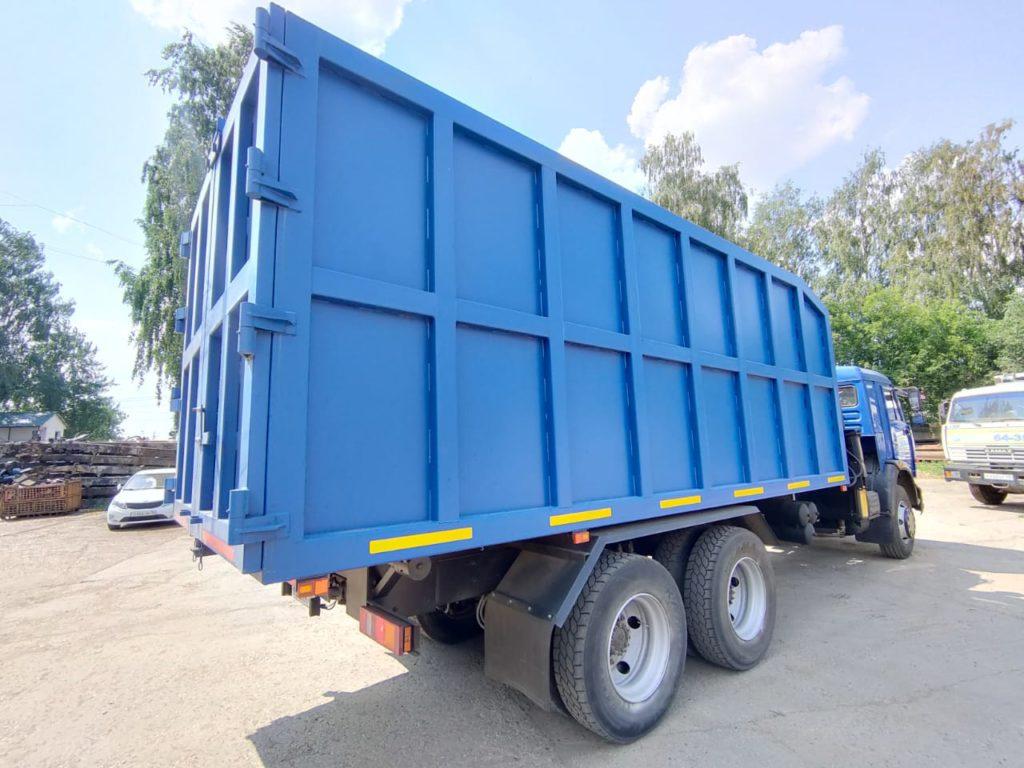 КамАЗ 65115 ломовоз, 2012, синий фото 7