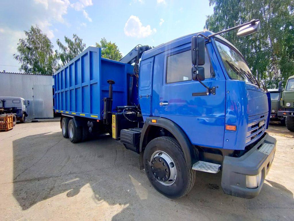 КамАЗ 65115 ломовоз, 2012, синий фото 0