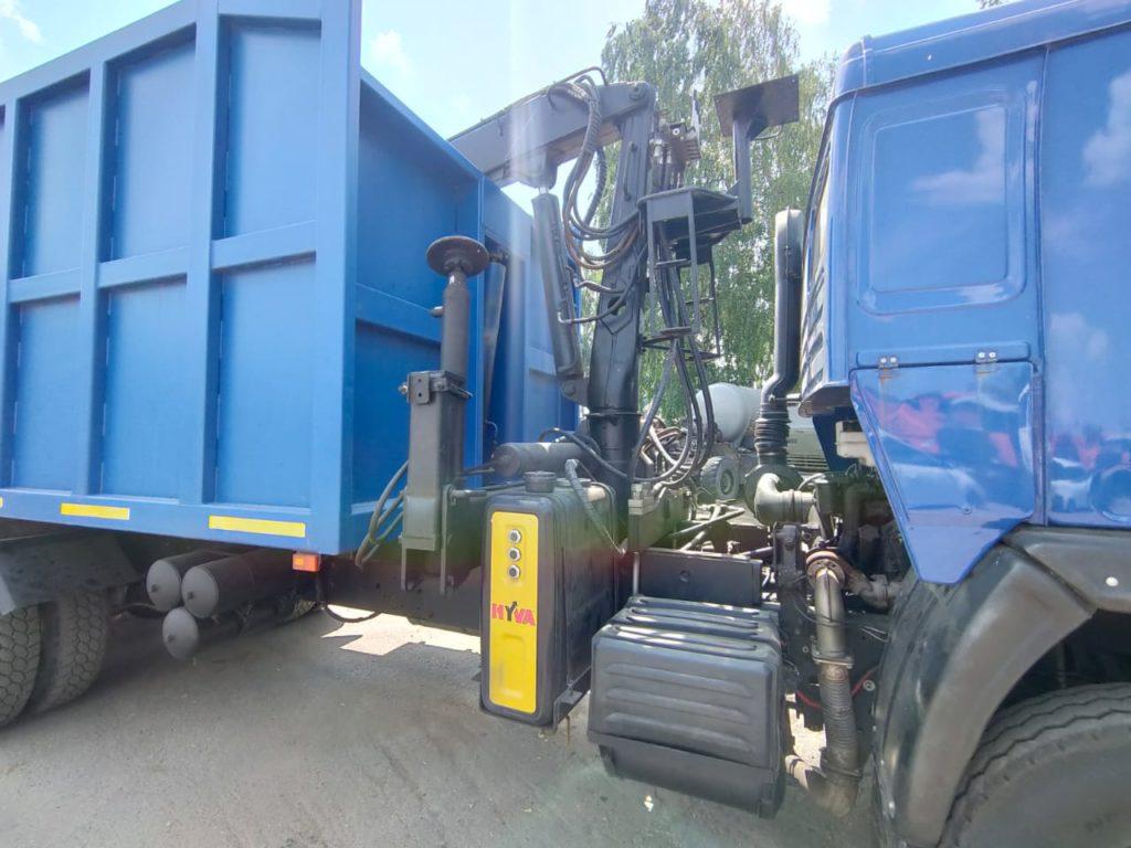 КамАЗ 65115 ломовоз, 2012, синий фото 8