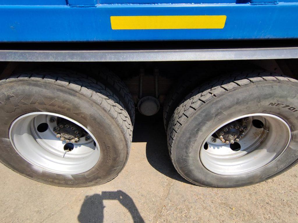 КамАЗ 65115 ломовоз, 2012, синий фото 9
