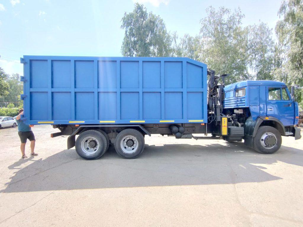 КамАЗ 65115 ломовоз, 2012, синий фото 10