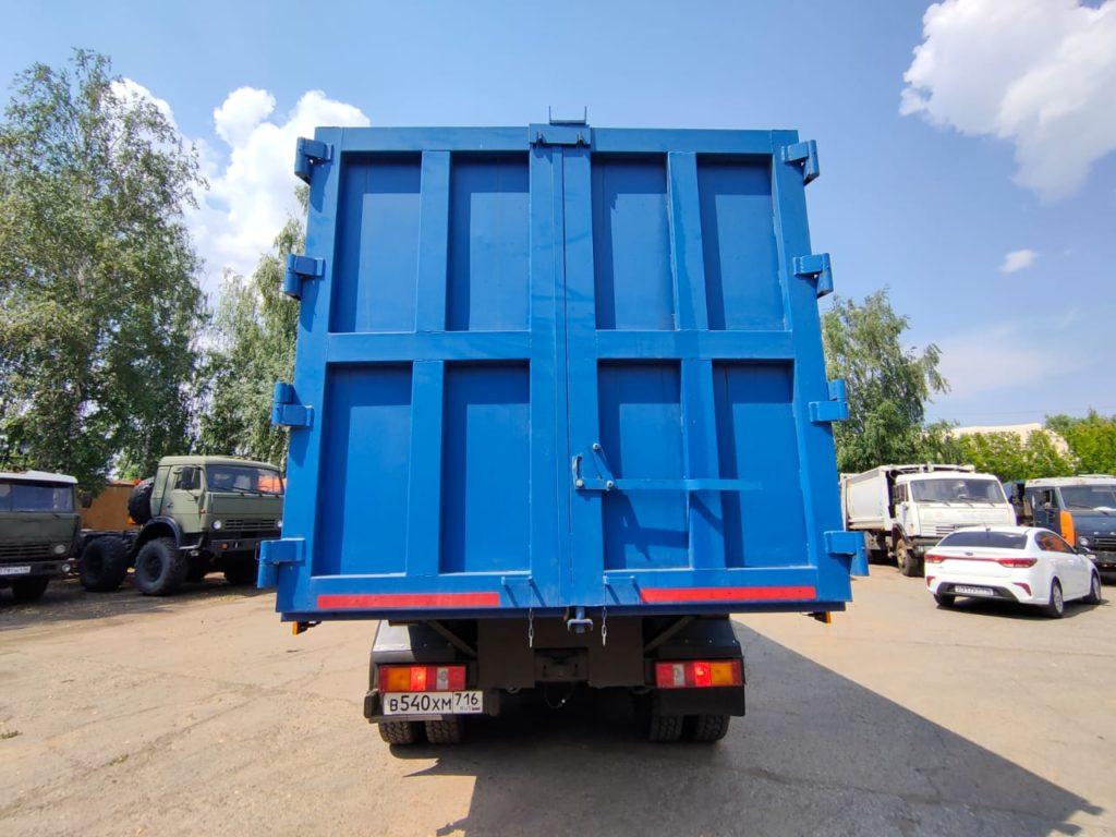 КамАЗ 65115 ломовоз, 2012, синий фото 11