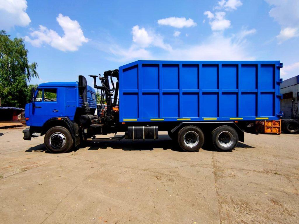 КамАЗ 65115 ломовоз, 2012, синий фото 12