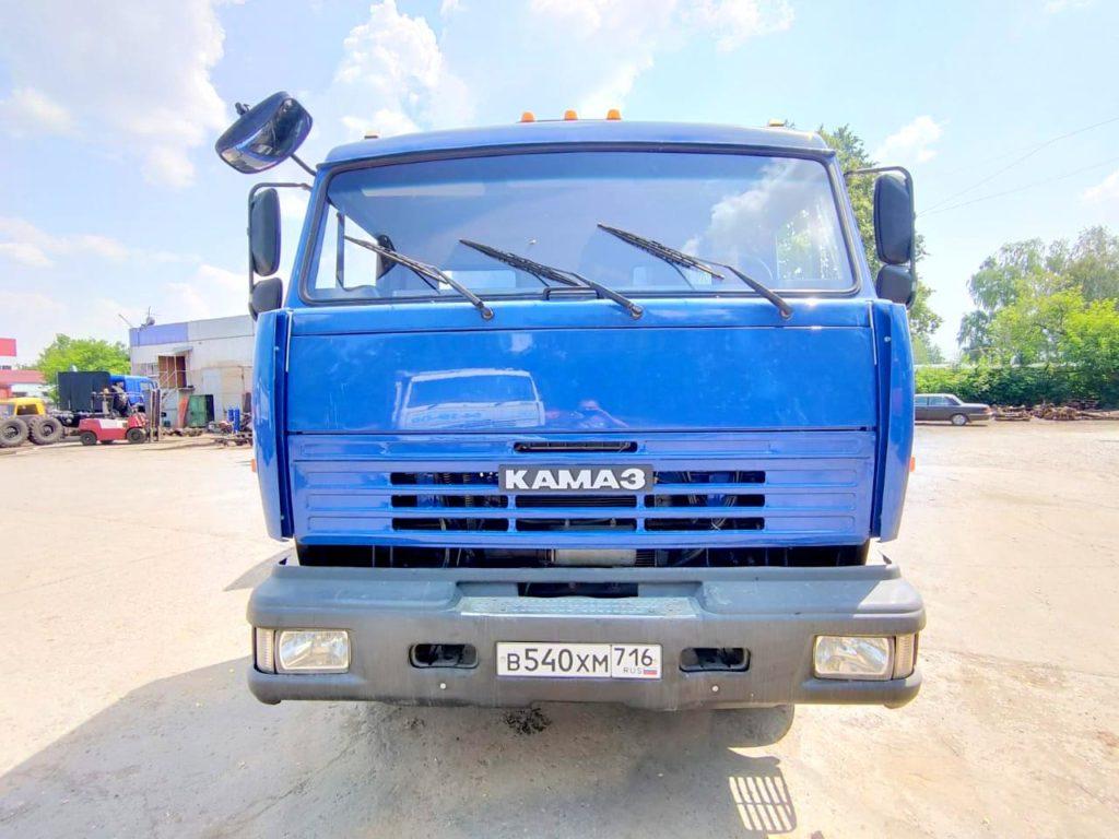 КамАЗ 65115 ломовоз, 2012, синий фото 2