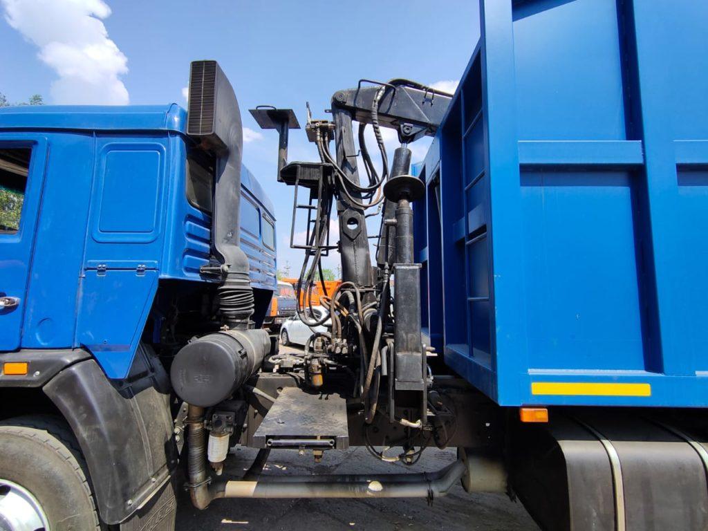 КамАЗ 65115 ломовоз, 2012, синий фото 13